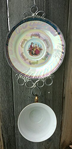 Vintage Cameo Cup and Saucer Wind Chime