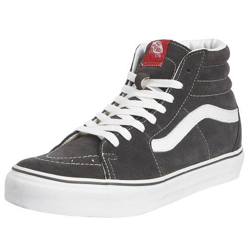 Vans Sk8 Salut-checkerboard, Unisexe - Chaussures De Sport Pour Adultes -skateboarding Gris