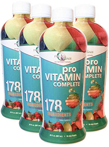 Pro Vitamin Complete Liquid Vitamin - 4-30 Oz Bottles