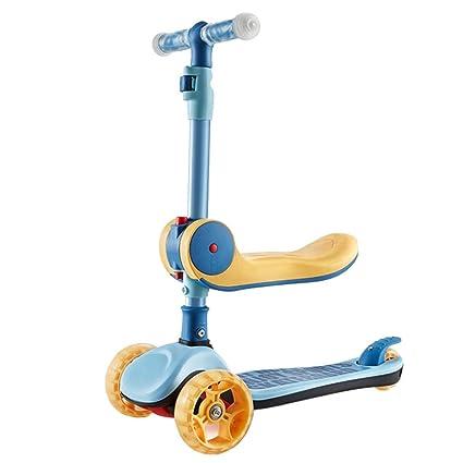 Patinetes Chicos Scooters portátiles para niños con Asiento ...