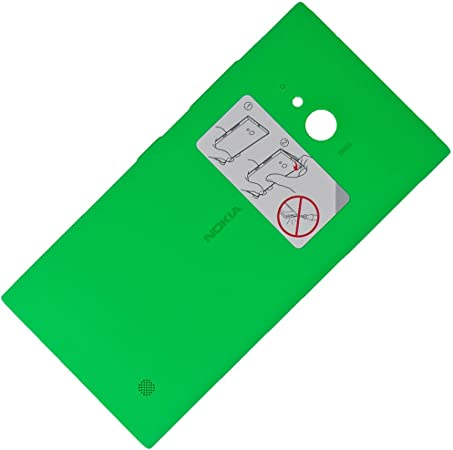 Nokia Lumia 735 Original batería tapa verde battery Cover Green Incluye Antena NFC y WLC Módulo para cargar inalámbrica trasera rígida batería tapa ...