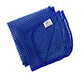 net cloth scrubber - DishMesh Premium Kitchen Dish Towel and Scrubber Scourer Scratch Free Quick Wash and Dry No Odor Mesh Net for Dishes Counters Bacteria Resistant