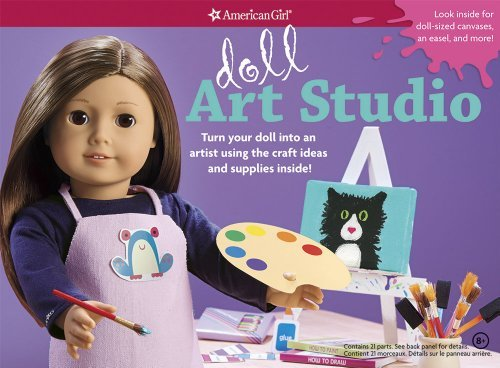 Download Doll Art Studio: Turn your doll into an artist using the craft ideas and supplies inside! (American (Act Nov) [Hardcover] PDF