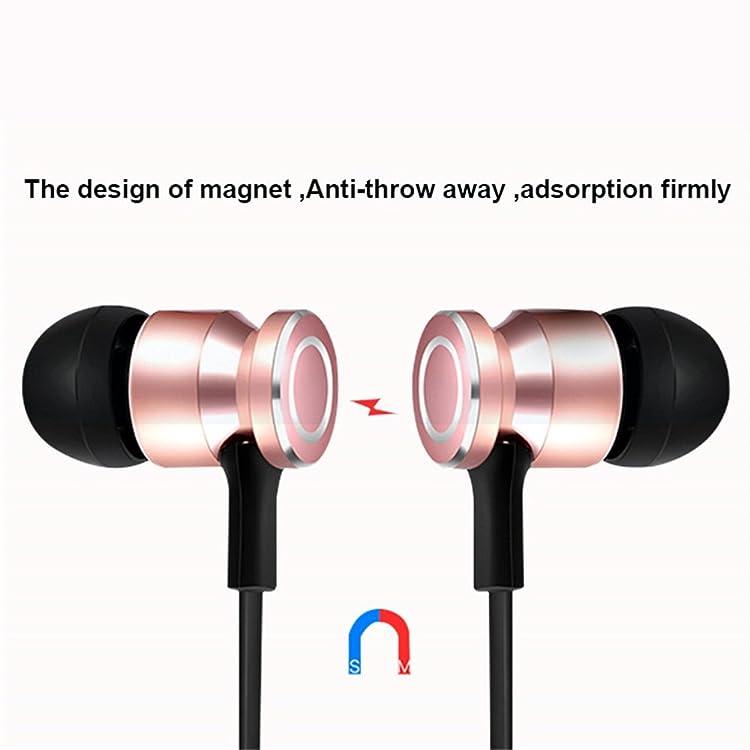 Docooler S6-6 ワイヤレスイヤホン HDステレオサウンド Bluetooth 4.1 スポーツBluetoothヘッドフォ iPhone Samsung HUAWEI などスマホ用