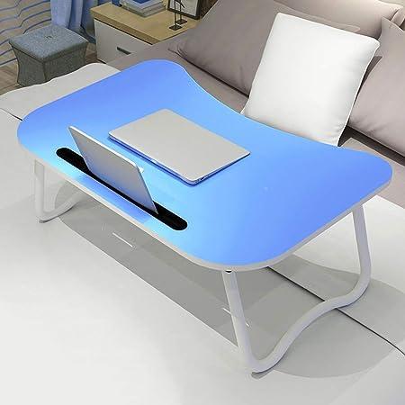 Folding table Dormitorio Escritorio pequeño Mesa para Laptop Mesa ...