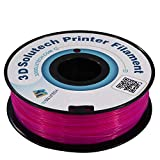 3D Solutech See Through Purple 3D Printer PLA