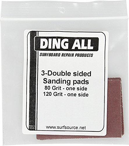 Ding All Sandpaper Assortment 3 Pack Surfboard Ding Repair