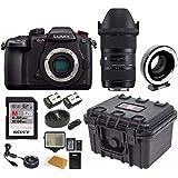 PANASONIC LUMIX GH5s Body C4K Mirrorless Camera w/ Sigma 18-35mm f/1.8 DC HSM Lens + USB Dock & Metabones Spee