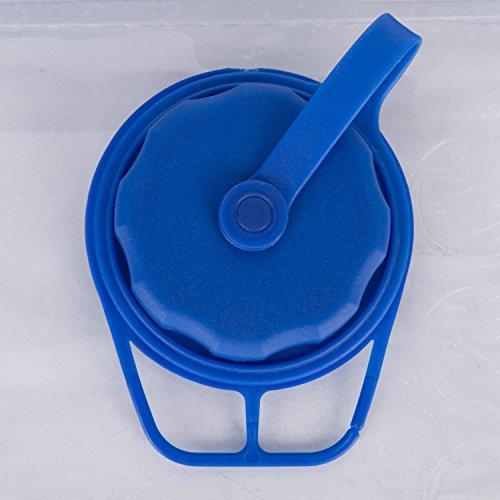 Asvert Trinkblase Trinkbeutel tragbare Wasserblase Wasserbeutel Portable Camping Wasser Blase Outdoor Rucksack Trinkbeutel für Outdoor Wanderungen Trekking Fahrradfahren PEVA Wasser Tasche, 2L