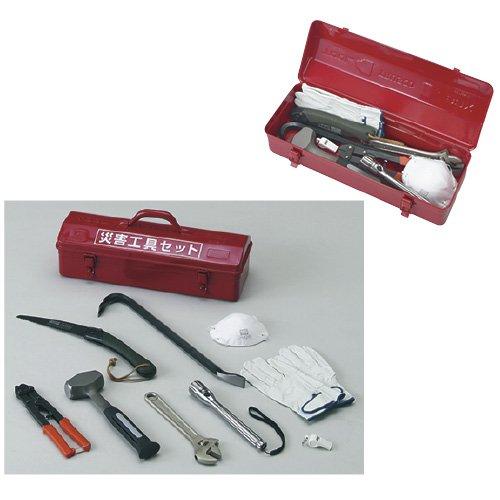 災害工具セット  TRC-C-SET【1個単位】(24-5403-00)   B06WD4FPR4