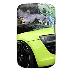 For Galaxy S3 Premium Tpu Case Cover Audi R8 V10 Protective Case