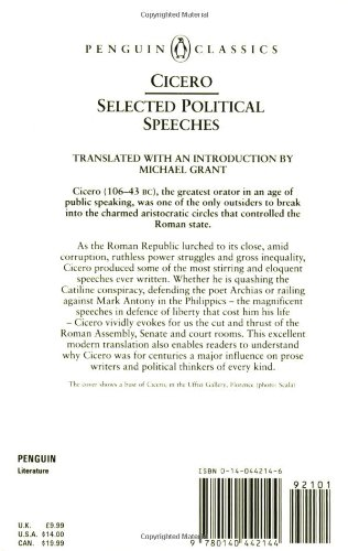 Selected Political Speeches (Classics)