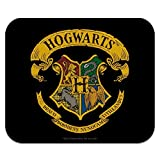 Harry Potter Ilustrated Hogwart's Crest Low Profile Thin Mouse Pad Mousepad