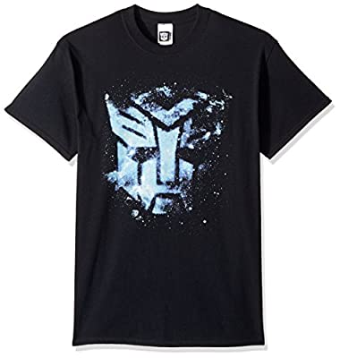 Transformers Men's Autobots Floating Space Logo T-Shirt