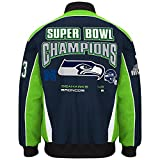 nfl superbowl champion jacket - G-III Sports NFL Men's Seattle Seahawks Super Bowl Champion Cotton/Twill Jacket (Large)