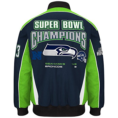 6 Championship Commemorative Twill Jacket- Men's (3XL) (Twill Championship Jacket)