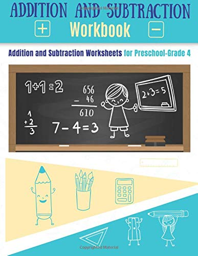Addition Workbook And Subtraction Workbook Addition Worksheets And
