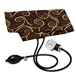 Prestige Medical Premium Infant Aneroid Sphygmomanometer, Chocolate Golden Swirls, 11.05 Ounce
