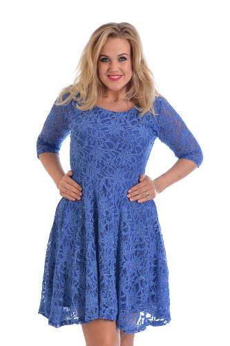 Pretty Blue Dress - 5