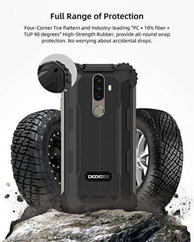Telephone Portable Incassable, DOOGEE S58 Pro Smartphone Débloqué 4G, 5.71 Pouces, Android 10.0, 6Go+64Go, 16MP+16MP… 3