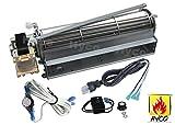 monessen blower - Vicool BLOT Replacement Fireplace Blower Fan KIT for Monessen, Hearth Systems, Martin, Majestic, Hunter (Standard Sized)