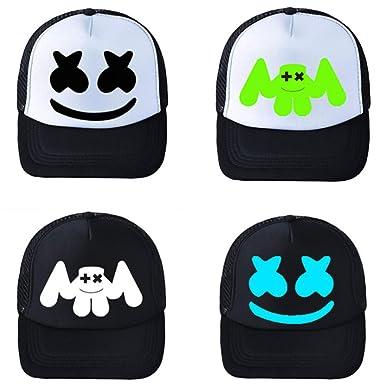 a5b38af80fff9 galmajLj Casual hat Fashion Unisex Summer Casual DJ Hip Hop Canvas Mesh  Anti-Sun Hat