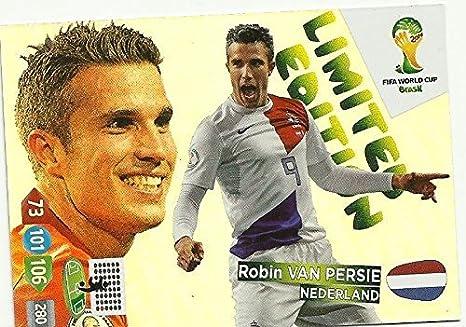 Persie Cup 2014 Brazil World Fifa Van Limited Adrenalyn Xl Robin w8pxqq5