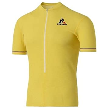 Le Coq Sportif Merino Jersey Yellow Tour de France New (Medium ...