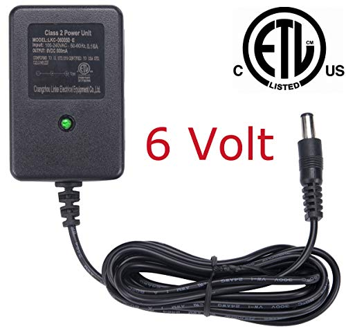 6V Battery Charger for Ride on Toys ,6V Charger for Ride on Car Best Choice Products SUV Powered Accessories
