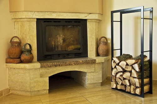 DanDiBo Firewood Log Rack Indoor Fireplace Log decorative 39