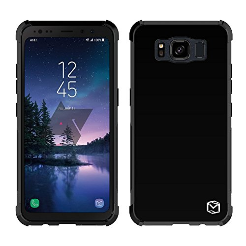 Galaxy S8 Active Case, MP-MALL [Slim Fit] [Shockproof] Flexible TPU Gel Rubber Soft Skin Silicone Protective Case Cover For Samsung Galaxy S8 Active