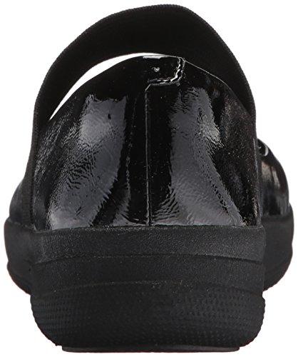 Black Tm Para sporty Cerrada Bailarinas F Mary Fitflop Punta Elastic Jane Con Mujer qER4S7w