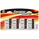 Energizer New 123 Lithium Photo Battery 12 Pack 3 Volts 10 Year Shelf Life For Digital Electronics