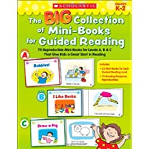 The BIG Collections of Mini-Books for Guided Reading: 75 Reproducible Mini-Books for Levels A, B & C That Give Kids a Great Start in Reading