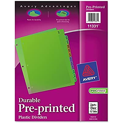 avery-11331-preprinted-plastic-tab