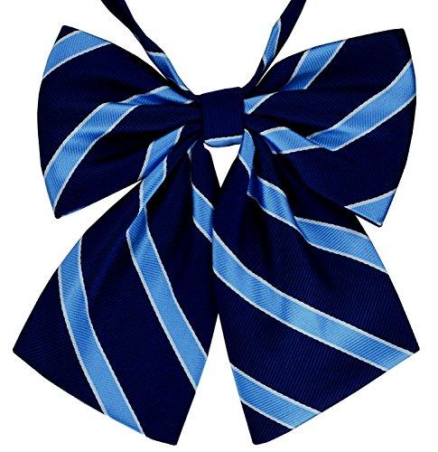 SUKRAGRAHA 1 pc Japan Sailor High School Cosplay Costume School Girl Style Bow Tie Blue ()