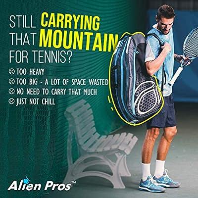 Amazon.com: Alien Pros - Mochila ligera para raqueta de ...