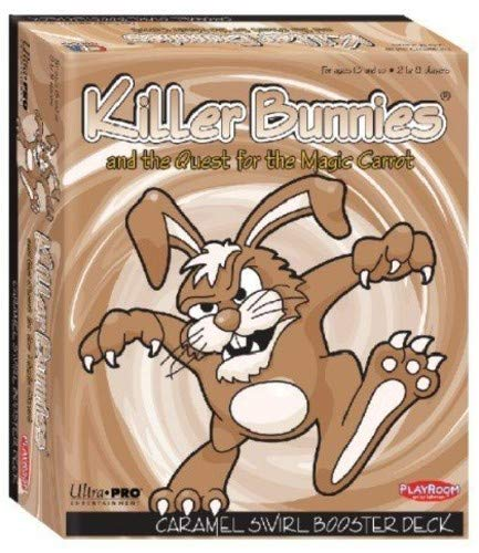 Playroom Entertainment Killer Bunnies & The Quest for The Magic Carrot Caramel Swirl Booster Deck Board Games