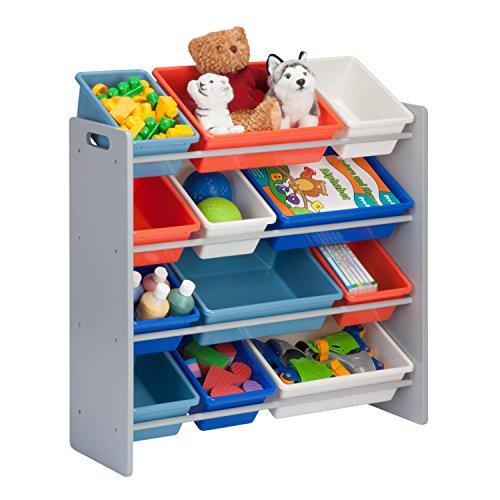 honey can do srt 06475 kids toy organizer storage bins. Black Bedroom Furniture Sets. Home Design Ideas