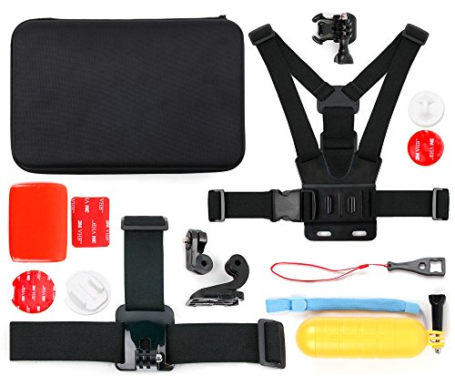 action-camera-14-in-1-extreme-sports-essential-accessories-bundle-with-hard-eva-case-for-the-looxcie