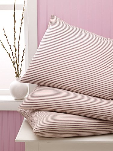 Medline MDTALLCOTT2 Hyperbaric Pillows, Blue/White Stripe (Case of 12) Medline Blue Pillow