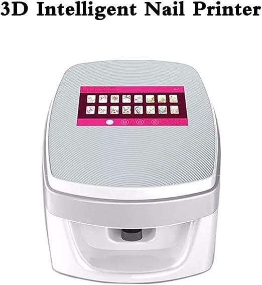 SANTHR Impresora de uñas 3D máquina portátil de Pintura en Aerosol ...