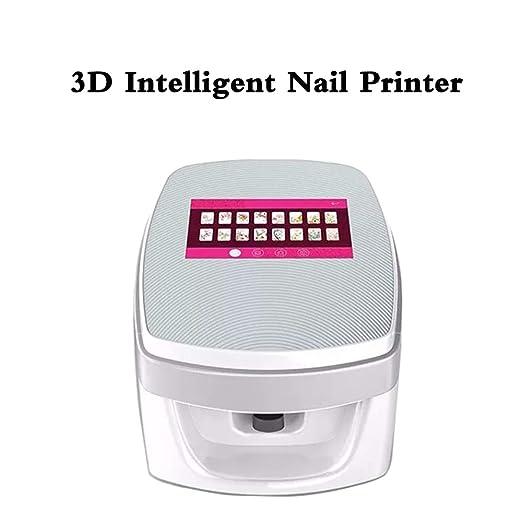 SANTHR Impresora de uñas 3D máquina portátil de Pintura en ...
