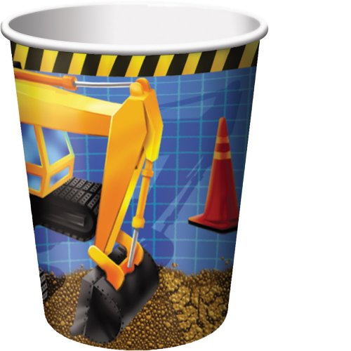 8-Count 9-Ounce Hot/Cold Paper Beverage Cups, Under Construction