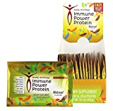 Body Ecology IMMUNE POWER PROTEIN Natural Flavor. Vegan, Plant-Based, No Sugar Added, 15G Protein, Gluten Free, Non_Gmo, 8 Medicinal Mushroom Blend. Contains Tree Nut COCONUT.