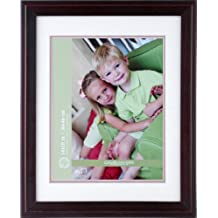 Gallery Solutions 130YM45 Mahogany Wall Frame with Mat, 14 by 18-Inch Matted to 11 by 14-Inch
