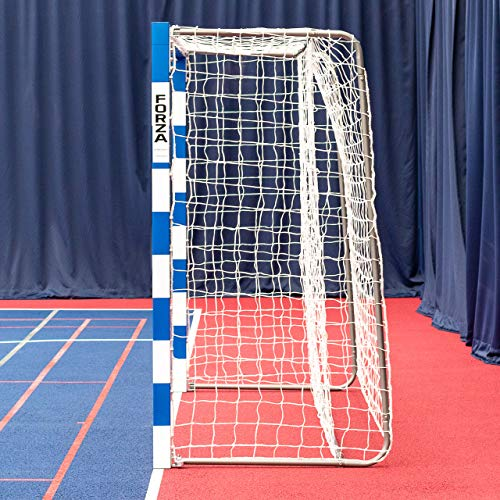 Forza Alu80 Competition Handball Goals | IHF Regulation Size 3m x 2m Handball Goal [Net World Sports] (Pair, Blue) by Forza (Image #2)