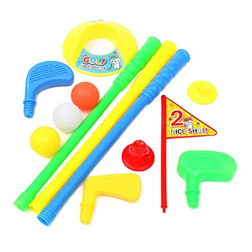 TOOGOO(R) Golf Set Putter Plastic 3 Balls