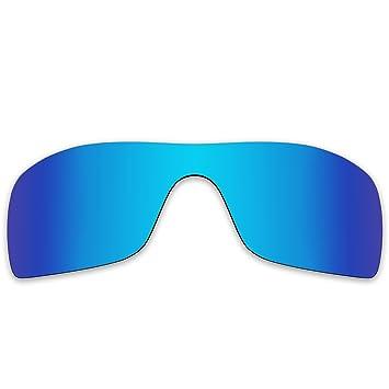 de5debc57ed866 Acompatible de remplacement de lentilles pour lunettes de soleil Oakley  Batwolf Oo9101, Blue Purple Mirror