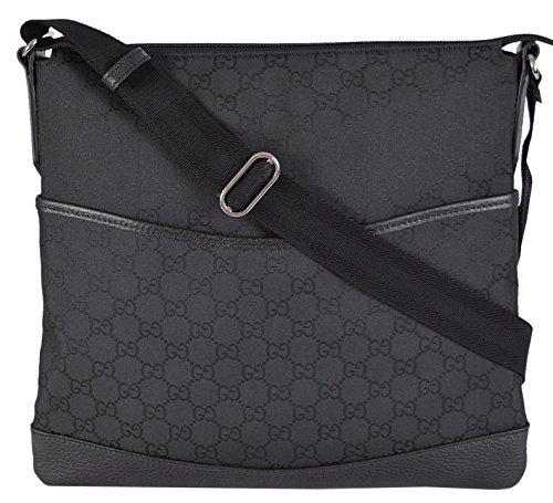 gucci-small-nylon-gg-guccissima-crossbody-messenger-bag-black